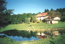 Une autre vue sur l'étang de Chatel Blanc (Massif du Jura)